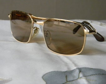 True Vintage Rare MARWITZ  Gold Filled Sunglasses 58-20- 135 Made in Germany. 50's. EXC*****
