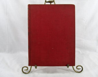 The American Dictionary of the English Language  Lyons, Daniel  Published by Peter Fenelon Collier, N.Y. 1900 Antique Book Red Hardcover
