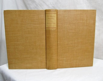 The American Presidency: An Interpretation, Harold Laski, Harper & Bros 1940 Hardcover First Edition Book Congress Cabinet Foreign Relations