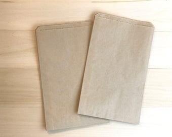 150 Favor Bags / Treat Bags / Kraft Bags / Brown Bags / Paper Bags / Wedding Favor / Cookie Bag / Wedding Favor Bag / Wedding Candy Bags