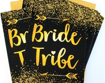 Bride Tribe Bachelorette Party Invites