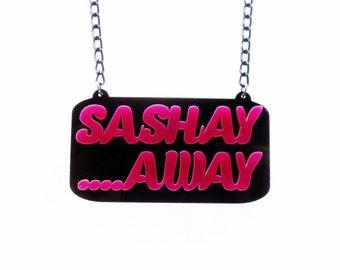 Sashay Shante reversible necklace