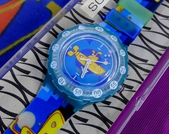 The Beatles Yellow Submarine Swatch Watch