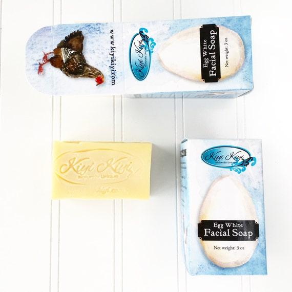 Egg White Facial Soap 35
