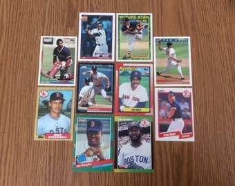 50 Boston Red Sox Baseball Cards