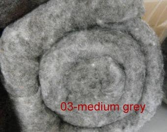 Felting Wool, roving, needle felting, wet felting, spinning, Canadian wool