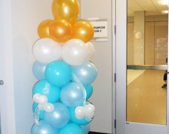 Baby Bottle Balloon Column and Arch DIY Kit party decoration