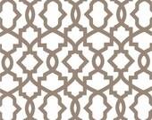 SALE Trellis Fabric- Premier Prints Ecru Sheffield Fabric by the Yard- Beige Fabric- FAST SHIPPING- Wholesale Fabric- Tan Home Decor Fabric