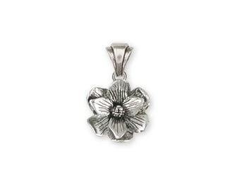 Magnolia Pendant Jewelry Sterling Silver Handmade Flower Pendant MG4-P