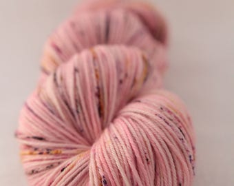 Hand-dyed yarn - sock yarn - superwash - merino - dyed-to-order - speckles - OROSE