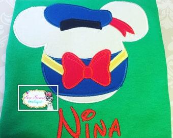Donald Duck disney shirt, disney vacation, family shirts, disney shirt, disney world, Mickey Mouse clubhouse