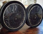 Black Ammonite Plugs