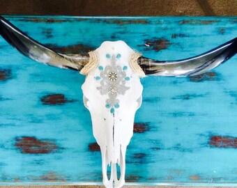 4-5ft Custom Cow Skull