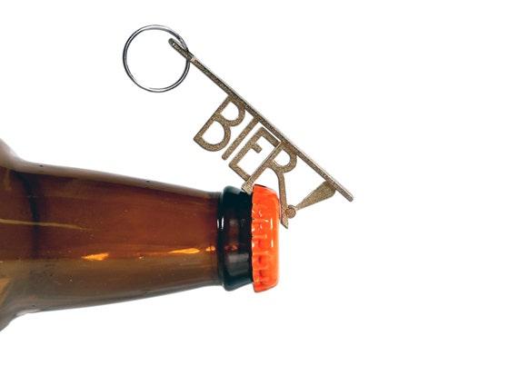 bier bottle opener keychain custom groomsmen best man. Black Bedroom Furniture Sets. Home Design Ideas