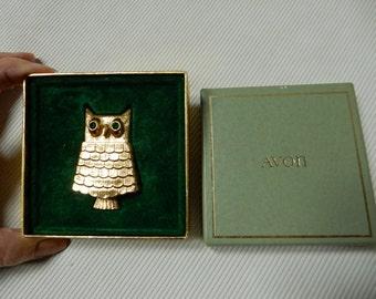 Avon Owl  Brooch