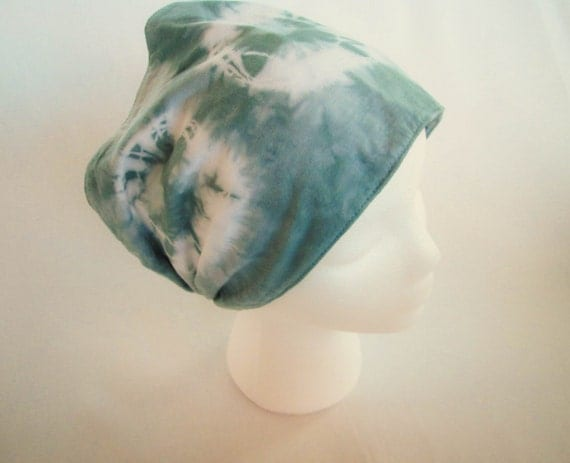 Tie Dye Gypsy Headband Hand Dyed in Muir Green/Womens Tie Dye/Gifts for Her/Gypsy Headband/Eco-Friendly Dying