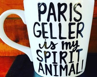 Paris Geller is my spirit animal- |Gilmore | obsessed- lorelai- rory- Gilmore Girls coffee mug- Gilmore Girl - Paris