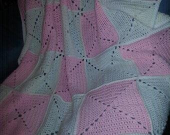 Pink & Soft White Twists