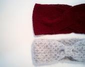 Commande personnalisée -  duo de headband façon noeud/turban