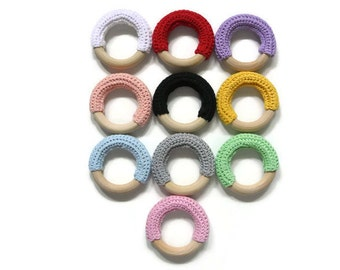 Montessori Infant Crocheted Teether