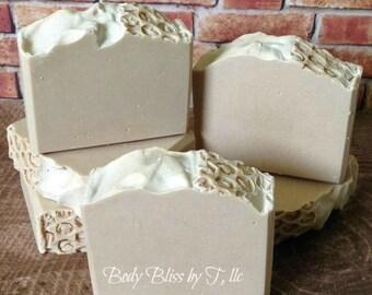 Oatmeal, Milk & Honey Soap, Handmade Soap, Cold Process Soap, Bar Soap, Artisan Soap