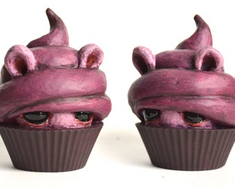 Mini Cupcake Peeker - Black currant