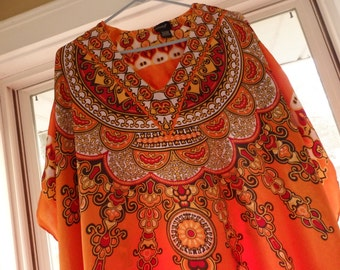 Caftan dress,Bohemian Kaftan, Boho Tunic, Ethnic Dress, Silky Fabric Caftan, Bohemian party wear, Kimono maxi dress, Hippie scarf dress