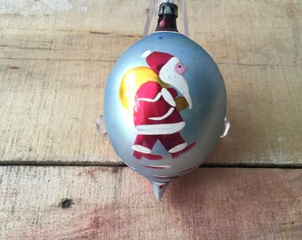 Vintage Polish Glass Ornament
