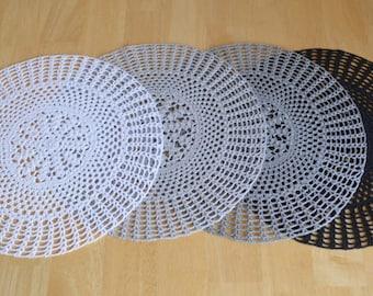 Crochet Dily Lace Crochet Table Napkins Crocht Table Doily Chrochet Home Decor Chroche Art