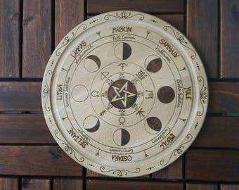 Wheel of the year / / year wheel / / pagan wheel / / pentacle
