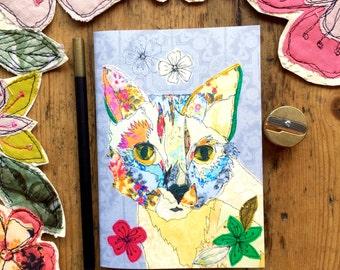 Pocket notebook- Cat