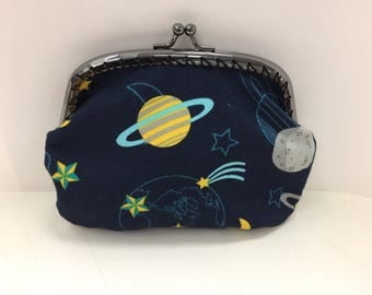 Stars and Planets Coin Purse