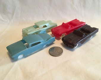 Small Lot of 4 F&F Plastic Cars