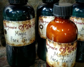Magic~ calming face tonic for  severe acne, inflamed, dry, oily, and wrinkled skins