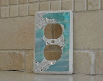 mosaic switch plate.{Kyle}