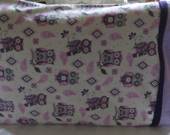 Children's Pillow Cases Standard Pillow Case Cotton Flannel Pillow Case Owl Pillow Cases