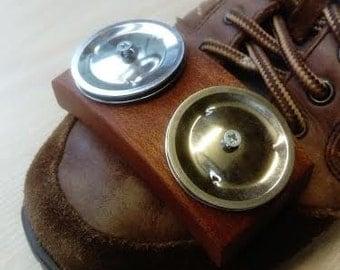 Foot tambourine