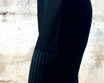 Plissé  skirt vintage 50s group Marzotto made in Italy size S-M