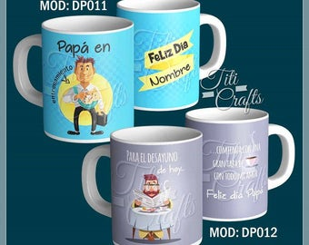 PSD. Pack #2 father's day. 10. digital designs to sublimate.