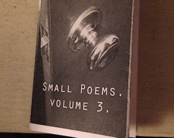 Small Poems, Volume 3