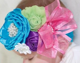 Headband/Baby Headband/Baby Headbands and Bow/Infant Headband/Baby Girl Headband/Girl Headband Baby/Toddler Headband/Photo Prop Baby
