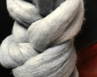 Winter Merino Wool Ready to Spin or Felt - 100g