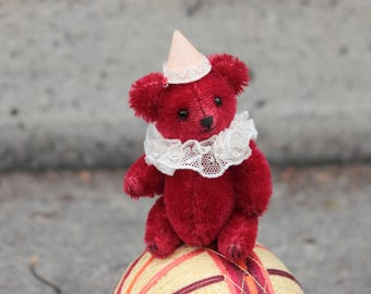 Collectible Miniature Teddy Bear Tommy