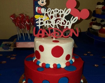 Mickey Mouse Cake Topper,Minnie Mouse Cake Topper,Minnie Mouse Birthday,Cake Topper,Minnie Mouse Party,Minnie Mouse Centerpiece,Minni