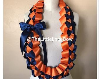 Graduation Lei-Satin Ribbon w/Side Bow