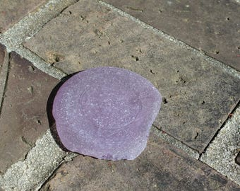 Sea Glass Shard - Purple