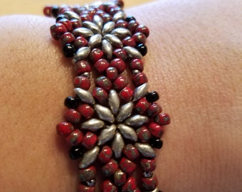 Red Picasso bracelet