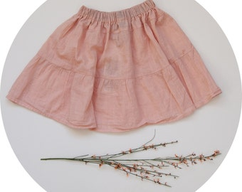 Kids Rock / / size 110 / 4-5 years / / pink / / dusty pink / / spring / summer / / Upcycling / / sustainably manufactured / / unique / /.