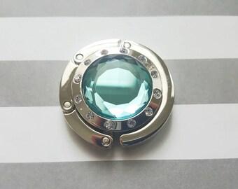 Purse Hook-Glass Crystal (not acrylic)