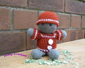 Inchoate Gingerbread Man Crochet Pattern
